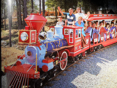 Picture of PTL train from Ministry Book