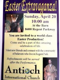 Easter Extravaganza! postcard