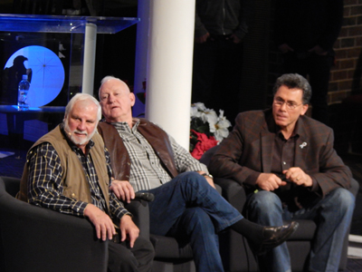 Rick Joyner, Gen. Boykin & Kamal Saleem at Q & A