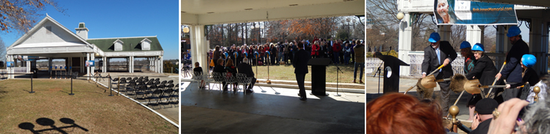 Bob Jones Memorial Center groundbreaking ceremony