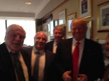 Rick Joyner photograph with Donald Trump Thursday May 12th, 2016